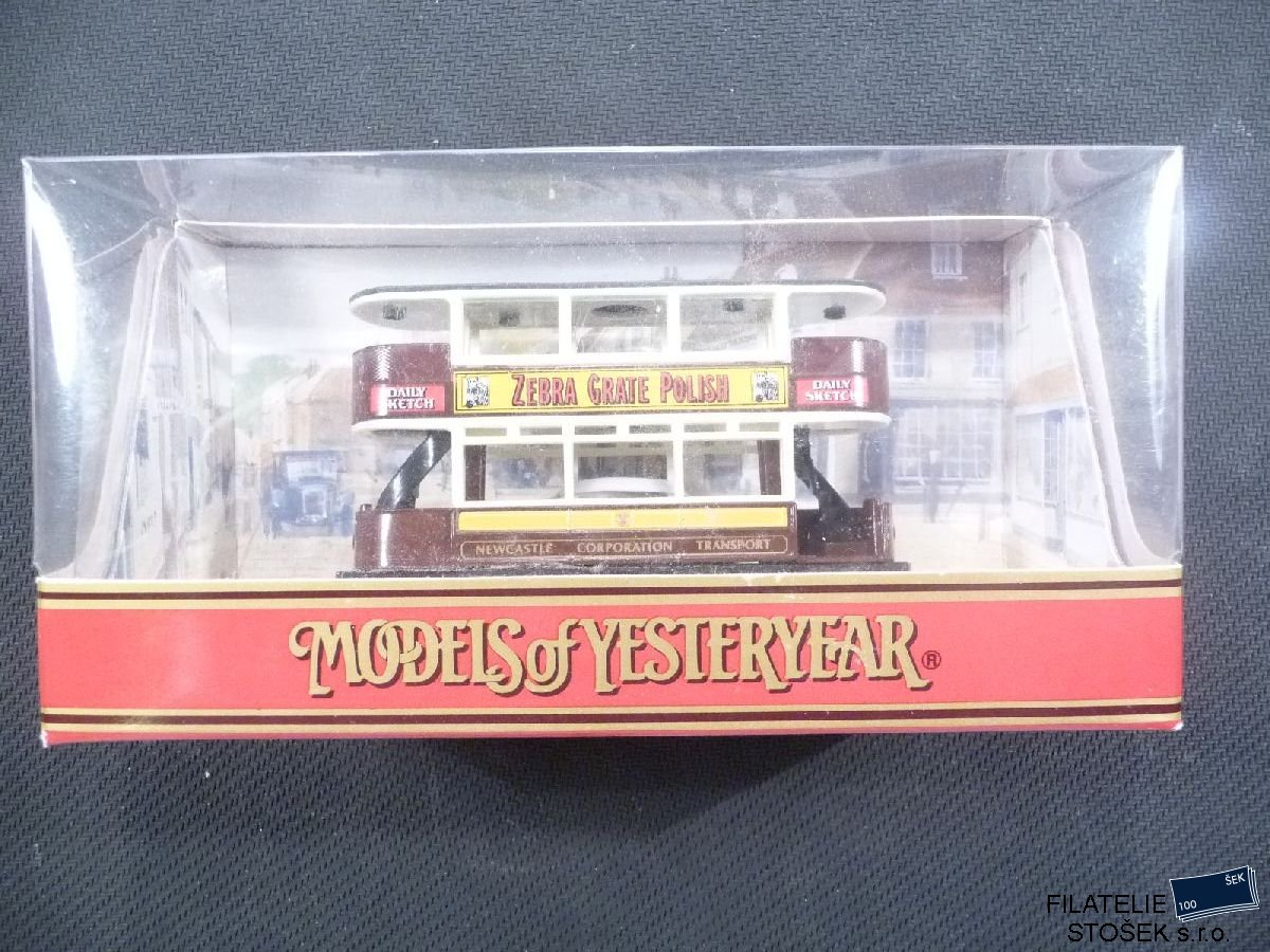 Matchbox Yesteryears Y - 15 - D 1920 Preston Type Tram