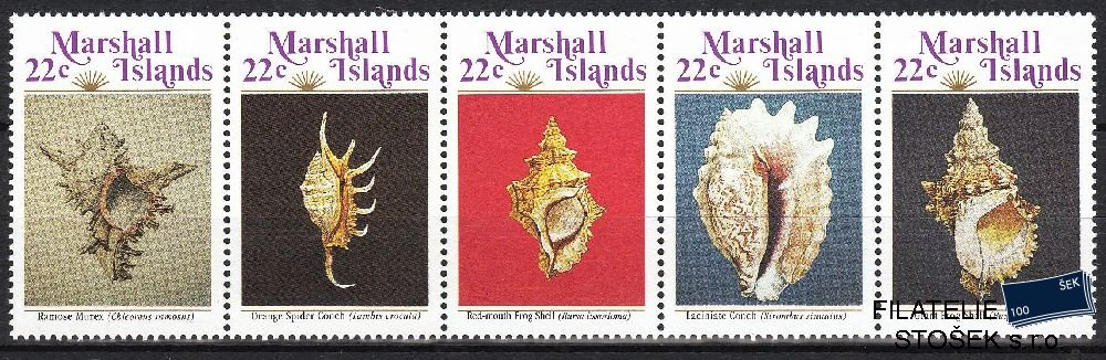 Marshall Islands známky Mi 87-91