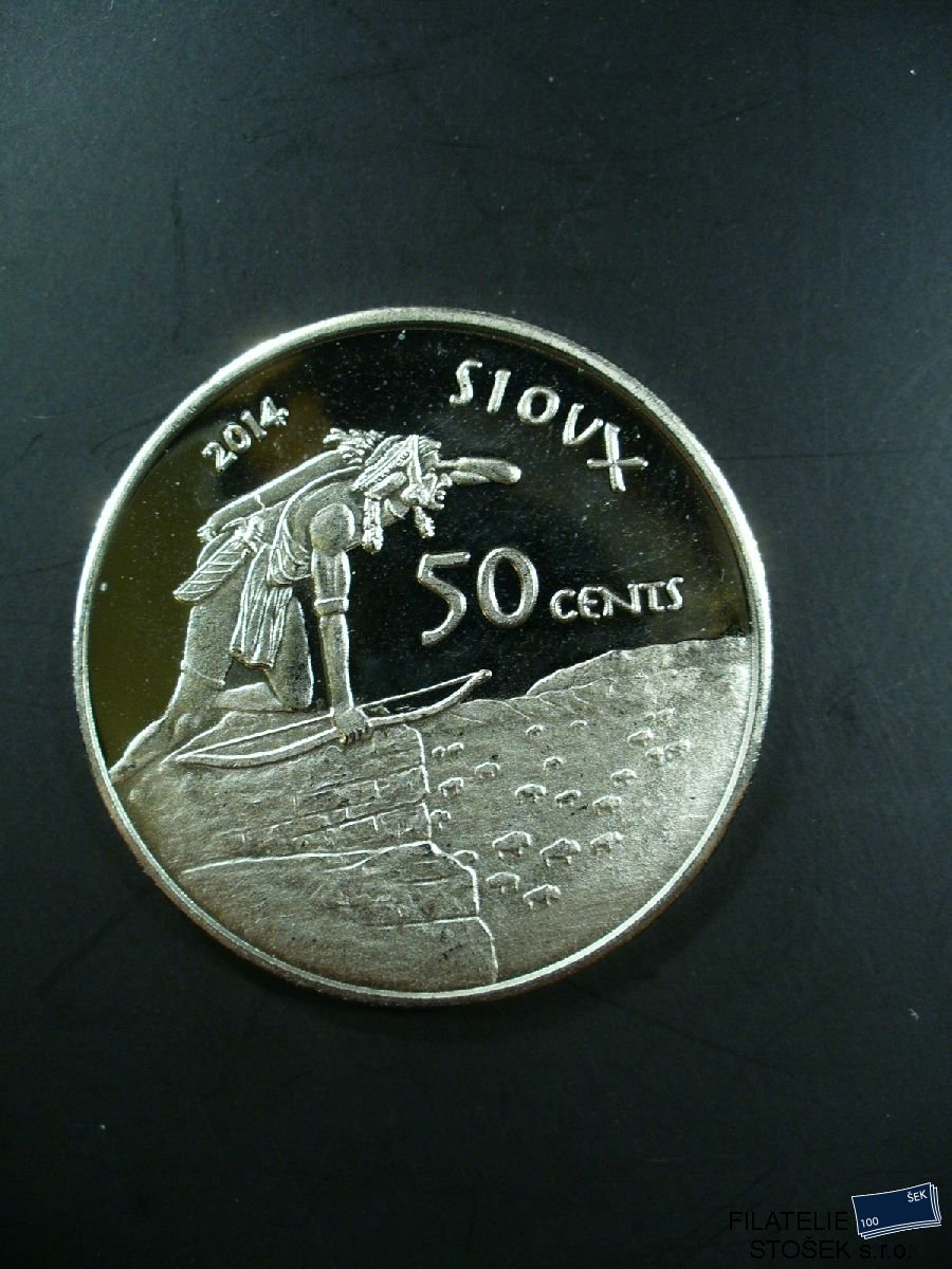 USA Sioux mince - 50 Cents