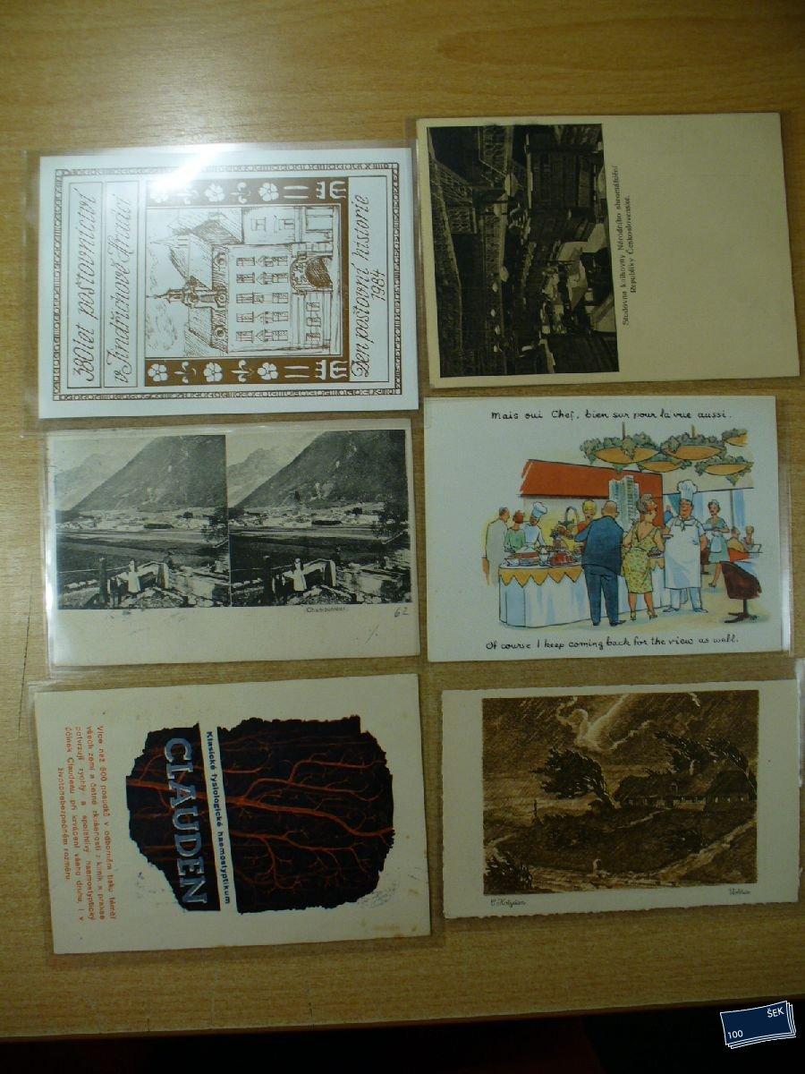 f7978fa37d Námětová pohlednice - Sestava 6 ks - Filatelie Stošek